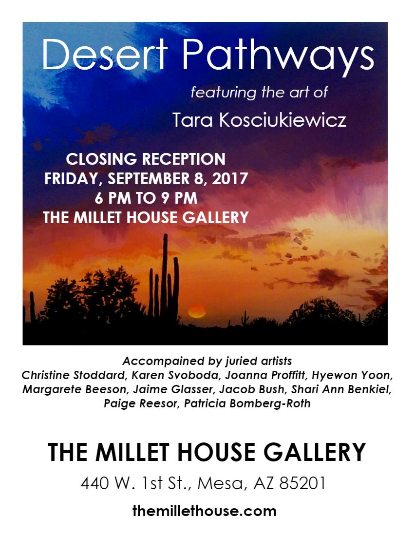 millet closing poster