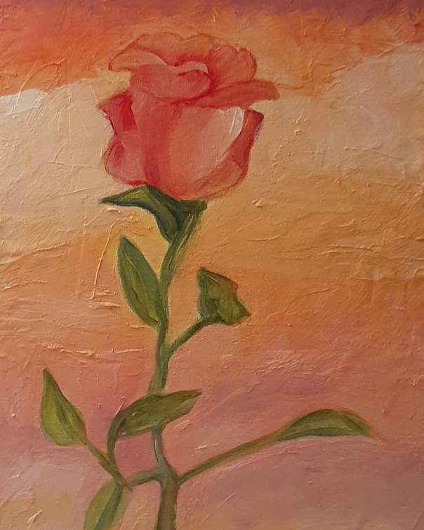 Andrea Rogers A Single Rose